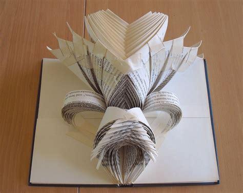 Paper Book Folding - folded book
