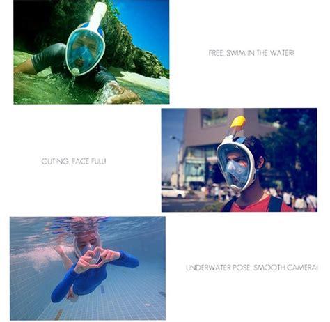 Alat Selam Snorkel Tidak Masuk Air Model Keren Bangett masker selam nikmati snorkeling lebih seru dan