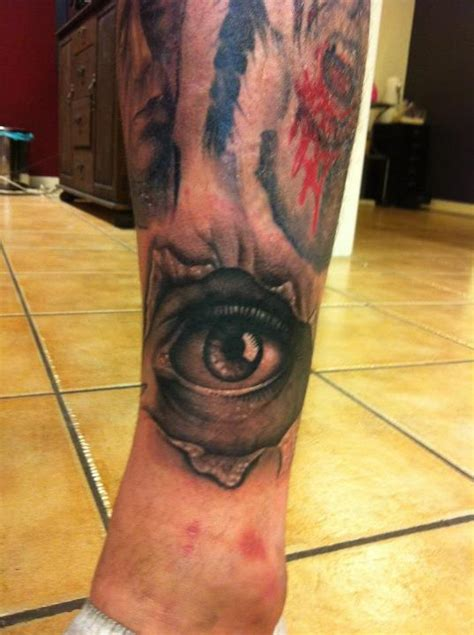 tattoo eye leg eye tattoos and designs page 161