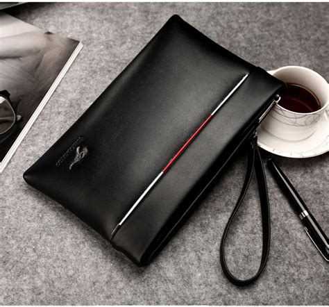 Clutch Bag Bag Pria Dan Wanita dompet tas clutch pria black jakartanotebook