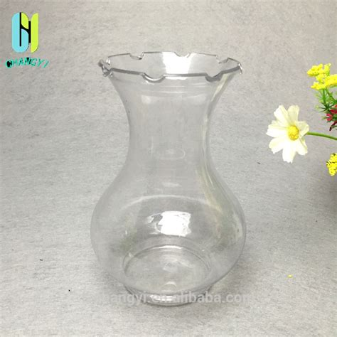 Plastic Clear Vase by 500ml Clear 2015 Fasion Plastic Vase Buy Pet