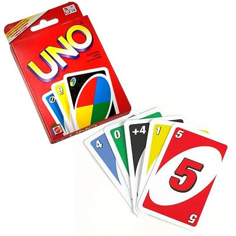 Unos Gift Card - uno card game the granville island toy company