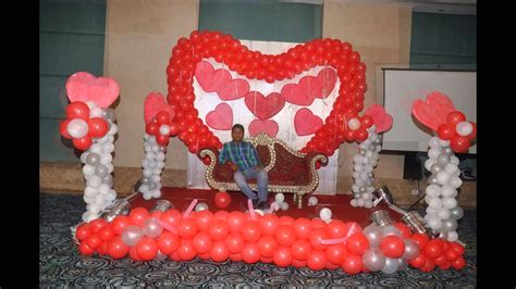 25th anniversary balloon decoration by 17 degree event amp weddings youtube