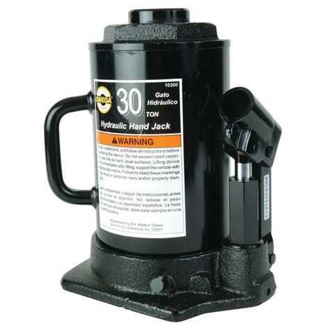 Unique Kitchen Faucets Omega 30 Ton Hydraulic Side Pump Bottle Jack 10300 The