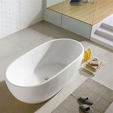 freestanding acrylic bathtubs bathtub acrylic freestanding white oval