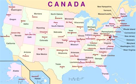 map us states and capitals labeled map of the usa with state names and capitals ways to help