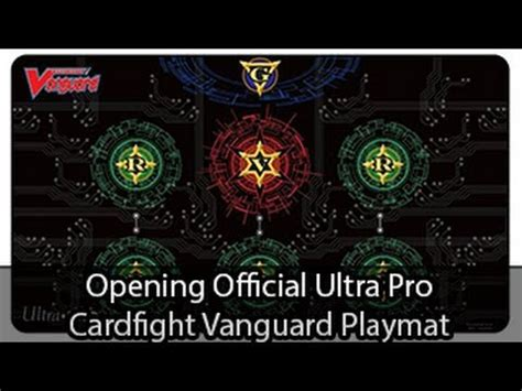 Card Fight Vanguard Playmat Template by Ultra Pro Official Cardfight Vanguard Playmat Opening