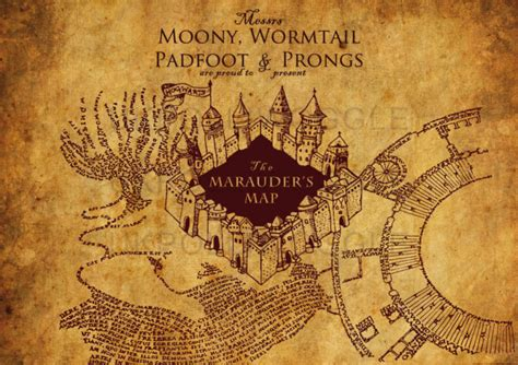 Marauders Map the marauder s map a revisit the rantings of a bookworm