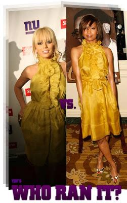 Who Wore Heatherette Better D Woods Or Teyana by The House Of Fabulous March 2008