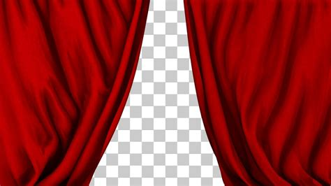 red theater curtains theater performance red curtain closing 2 styles youtube