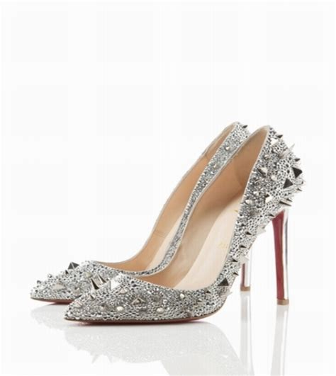 Silver Pumps For Wedding by Modern Silver Embellished Wedding Shoes Wedding Shoes