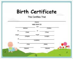 Teddy Birth Certificate Template by Doc 16001291 Great For Teddy And Baby Doll Birth