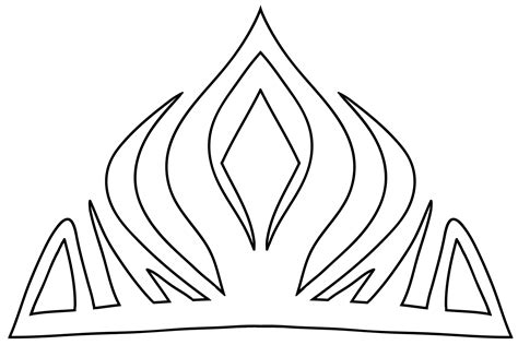 printable frozen crown template free coloring pages of elsa crowns