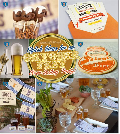 beer themed events oktoberfest beer tasting party hip party decor and favors