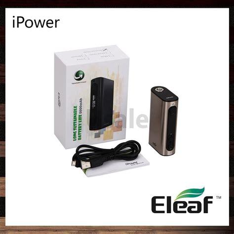 resetting eleaf battery eleaf ipower 80w tc mod 5000mah battery firmware upgraded