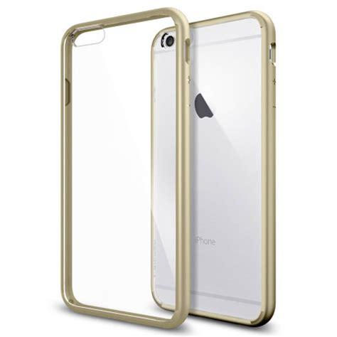 Spigen Ultra Hybrid Iphone 6 Plus 6s Plus Clear spigen ultra hybrid iphone 6s plus 6 plus bumper chagne gold mobilezap australia