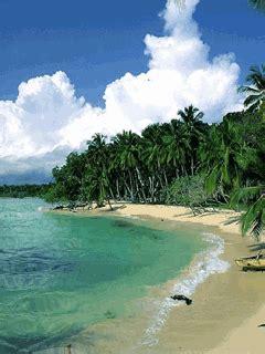 mobile phone screensaver beach