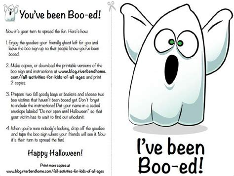 printable boo directions pin by riverbend home on fall fun pinterest