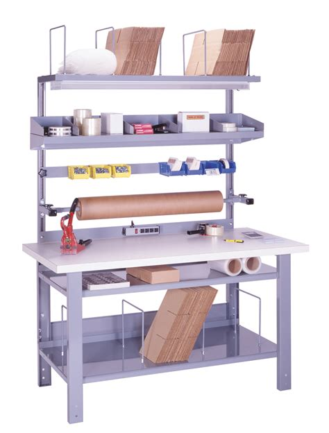 l shaped work bench stackbin custom projects l shaped workbench with