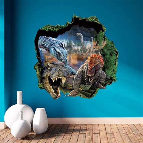 dinosaurier schlafzimmer dinosaurus muursticker stoere voordelige sticker