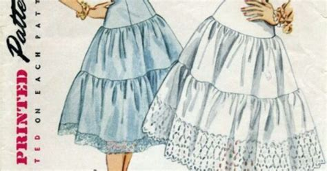 pattern for net petticoat 50 s petticoat pattern sewing patterns pinterest 50