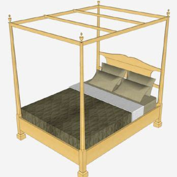 pencil post bed plans woodworking projects plans