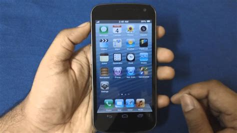Android Like Iphone by Make Your Android Phone Look Like An Iphone 5
