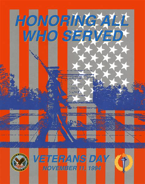 day posters file veterans day poster 1994 jpg wikimedia commons