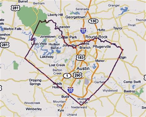 Travis County Property Records Travis County Healthcare District Map My