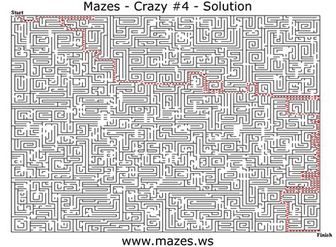 printable maze with no solution the crazy maze game 4 download free apps thinkingtracker