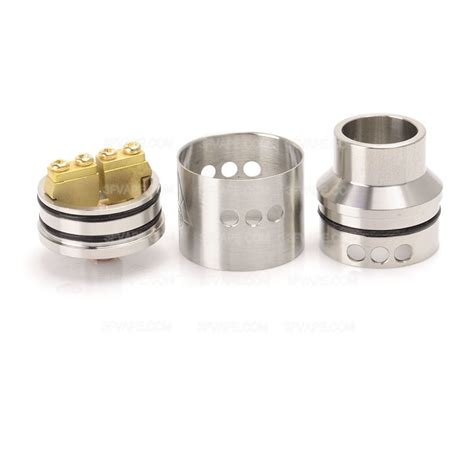 Rda Atomizer 22mm goon style rda 22mm silver rebuildable atomizer