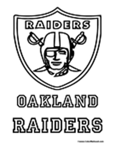 oakland raiders coloring pagejpg picture to pin on