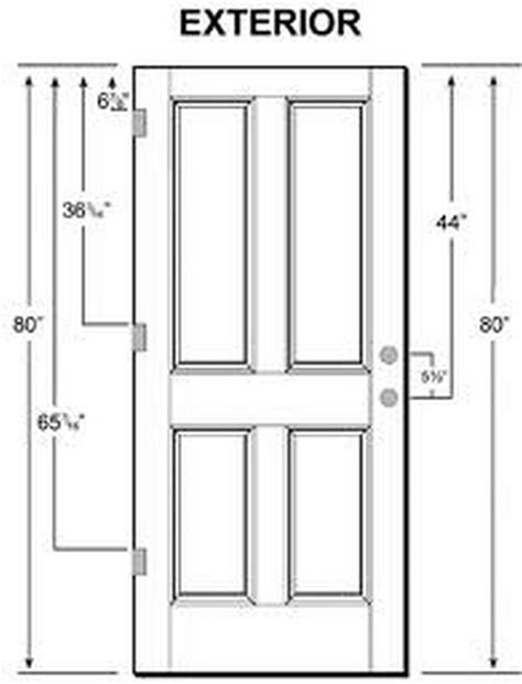 standard exterior door sizes exterior door sizes what is the standard door size for