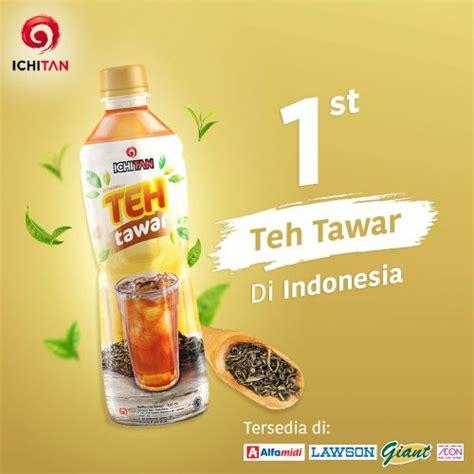 ichitan teh tawar offers sugar free option to tea