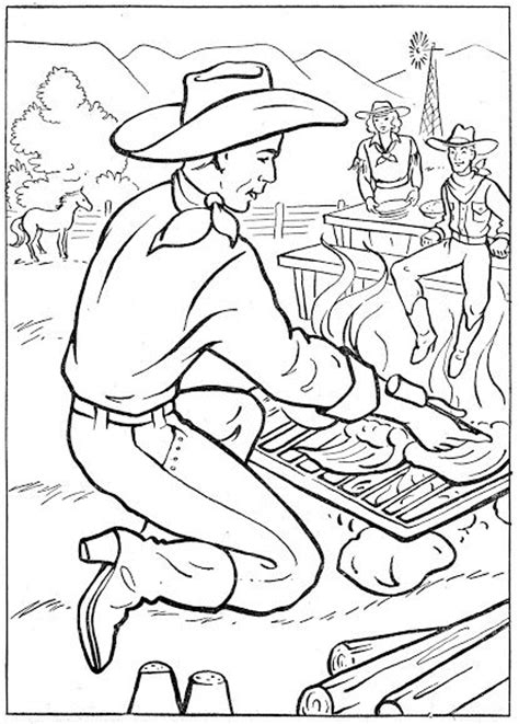 coloring pages western coloring pages for kids pinterest