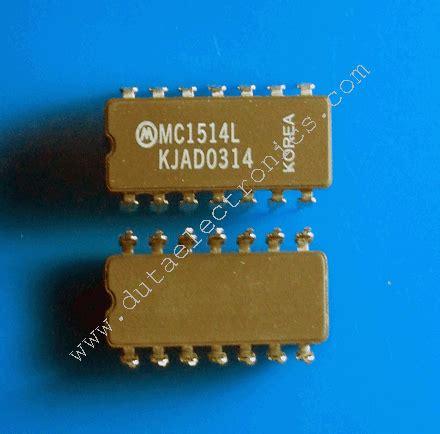 Lu Led Eceran ic mc1514l dip 14 pin new original grosir dan eceran