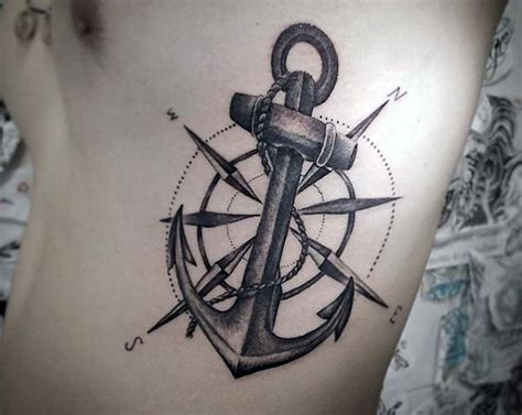 50 anchor tattoos for men a sea of masculine ideas