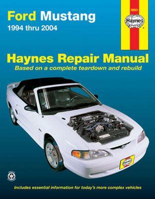 car service manuals pdf 1994 eagle vision free book repair manuals ford mustang haynes repair manual 1994 2004 hay36051