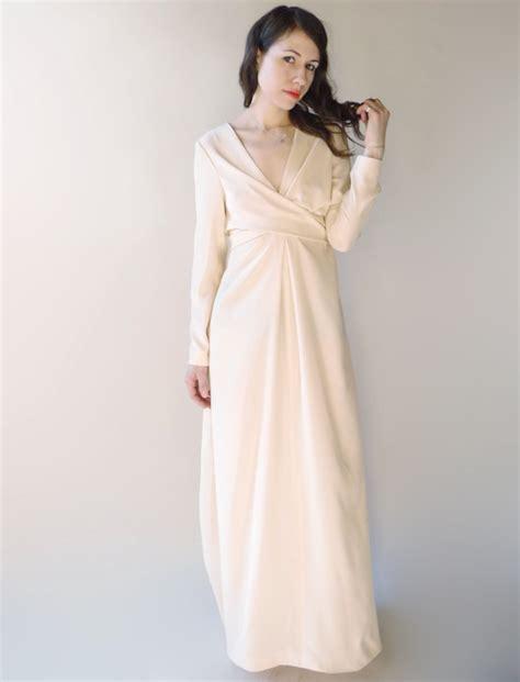pattern dress long sleeve bohemian blush maxi dress sewing projects burdastyle com