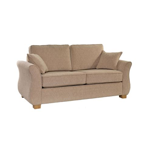 2 Seater Sofa Bed Icon Designs Roma 2 Seater Sofa Bed In Beige Furniture123