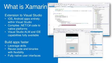 tutorial xamarin cross platform xamarin cross platform