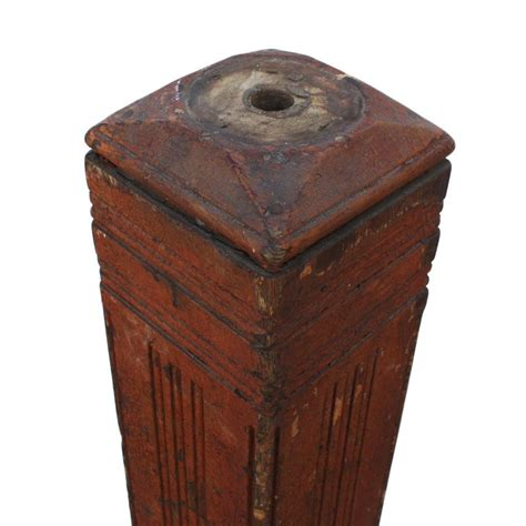 antique newel post l reclaimed antique oak newel post early 1900s from