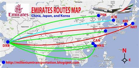 emirates a380 routes routes map emirates routes map