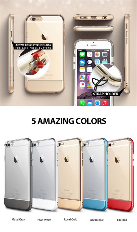 Mantap Rearth Iphone 6 6s Ringke Fusion Crysta Diskon rearth ringke fusion frame for iphone 6 6s