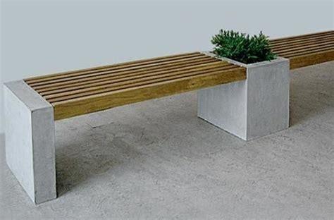 concrete wood bench best 25 concrete bench ideas on pinterest