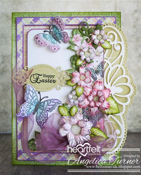 Heartfelt Handmade - bellisima vida easter card heartfelt creations style
