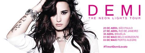 demi lovato albums vendidos disney club demi lovato the neon lights tour brasil