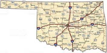 oklahoma highway map stock vector 158197628 istock
