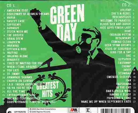 green day best hits green day albums greatest hits