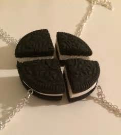 4 oreo best friend necklace by jumpingforjewelry on